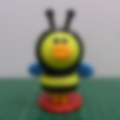 HONEY-BEE-SALLY-1.STL Download free STL file LINE FRIENDS -- HONEY BEE SALLY • Design to 3D print, 86Duino