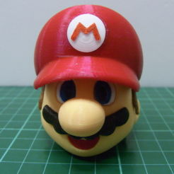 Free 3D printer model Super Mario Part 1 (Head), 86Duino