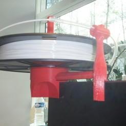 Télécharger fichier imprimante 3D gratuit Support de bobine de filament Z18, JCL