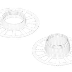 Free 3D print files Coil for filament, LaBiche-Renard