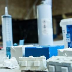 photo moules.jpg Download free STL file Molding kit (molding kit) • 3D printable template, LaBiche-Renard