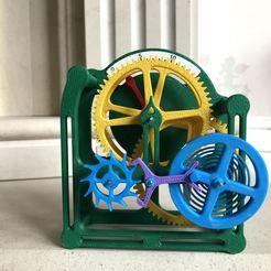 IMG_2411.jpg Download free STL file Minute Engine • 3D printer object, woodenclocks