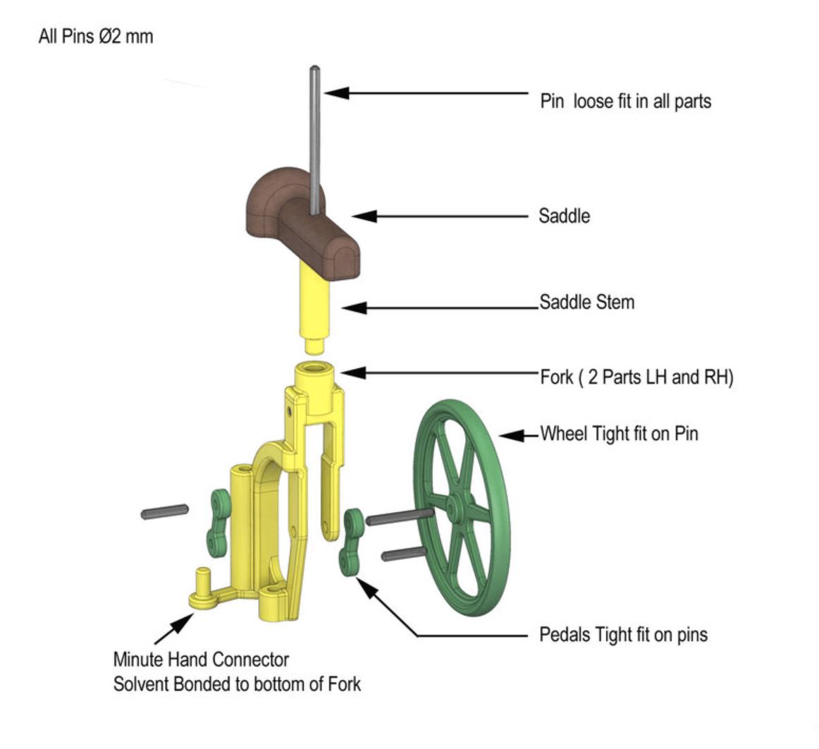 Capture d'écran 2018-04-25 à 09.43.52.png Download free STL file Automata-4 Ben rides around the clock • 3D printer template, woodenclocks