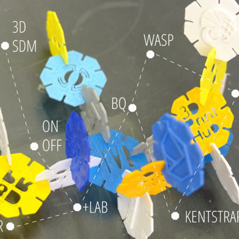 Download free 3D printer files How to use octons construction game to illustrate your network connection, piuLAB