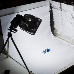 Free 3D printer model Photographic set backdrop, piuLAB