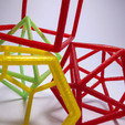 Free 3d printer files Platonic solids - frame set, piuLAB