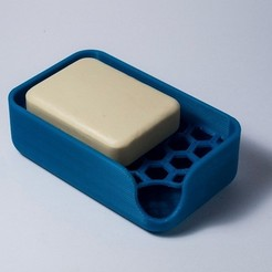 STL gratuit Soap holder, piuLAB