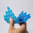 Download free STL file Flexible hexagonal mesh • 3D print object, piuLAB