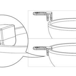 Free 3D printer designs Handle_Travasatore, piuLAB