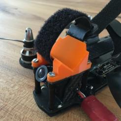 Download free 3D printer model Inimini H / Dquad HD cam holder, B2TM