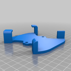 Body1.png Download free STL file Drone wall / case mount for DRUID One frame • 3D print template, B2TM