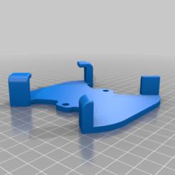 Body1.png Télécharger fichier STL gratuit Mur de drones / support de boîtier pour DRUID Un cadre • Modèle à imprimer en 3D, B2TM
