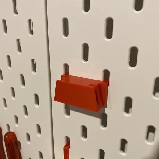 IMG_3823.jpeg Download free STL file Stanley Wirestripper holder for Skadis • 3D printing template, B2TM