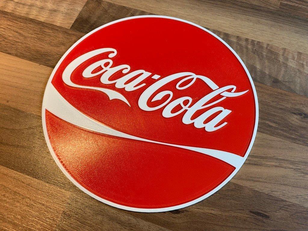3edde6a62c4729c10d7f9a985581c95c_display_large.jpeg Download free STL file Coca Cola sign Dual color • 3D printer template, B2TM