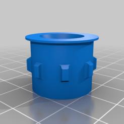 wheel_servo.png Télécharger fichier STL gratuit Boîtier supérieur et roues pour minuscule trak • Design pour imprimante 3D, B2TM