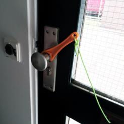 Download free STL file Removable 'touwtje door de brievenbus', B2TM