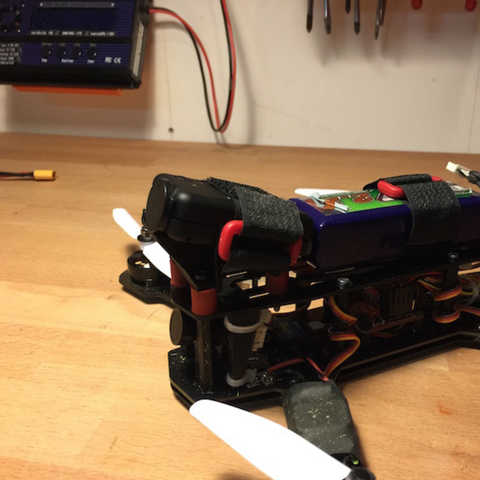 Download free 3D printer designs Mobius mount for Blackout Mini H, B2TM