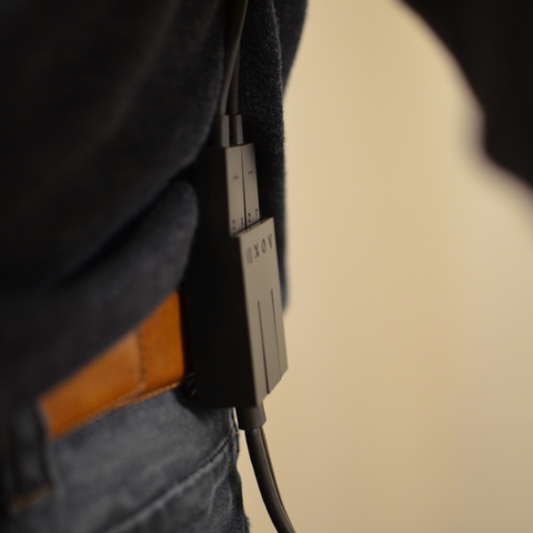 Free STL file Belt clip for Playstation VR cable, B2TM