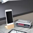 Free 3D file Elegant iPhone 6 (Plus) dock, B2TM