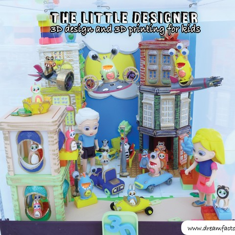 TLD kids 01.jpg Download free STL file The Little Designer kids • 3D printer template, yanizo