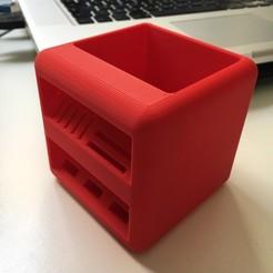 plan 3d gratuit The Little box: Pot à Crayon, fred6b12