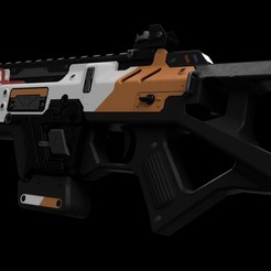 Download 3D printer model TITANFALL 2 // CAR SMG, 3DWORKBENCH