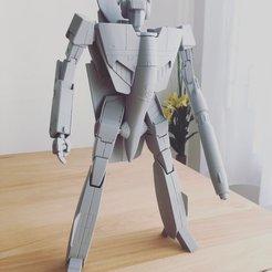 Télécharger fichier 3D Macross Robotech Valkyrie VF-1S, 3DWORKBENCH