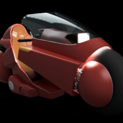 Download 3D printer designs AKIRA - Kanedas Bike, 3DWORKBENCH
