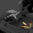 Télécharger modèle 3D gratuit CYBERPUNK 2077 VINDICATEUR MILITECH 9mm, 3DWORKBENCH