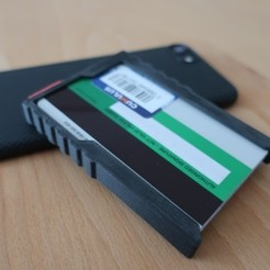 Download free 3D print files Minimalistic Wallet // 3DWB, 3DWORKBENCH