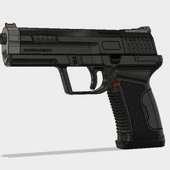 Free STL file 3DWB Armory Pistol, 3DWORKBENCH