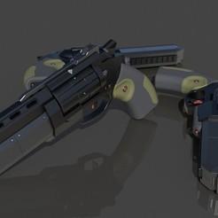 Free STL file 3DWB Revolver, 3DWORKBENCH