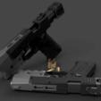 Modèle 3D gratuit CYBERPUNK 2077 VINDICATEUR MILITECH 9mm, 3DWORKBENCH