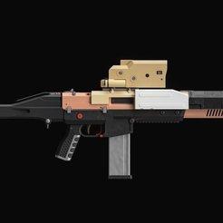 EKmc1slX0AA3VAJ.jpeg Download STL file DEATH STRANDING Rifle • 3D printing model, 3DWORKBENCH