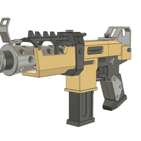 3D print model FortNite Battle Royale // Tactical SMG, 3DWORKBENCH