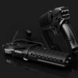 3D printer files Blade Runner 2049 // Officer Ks Blaser, 3DWORKBENCH