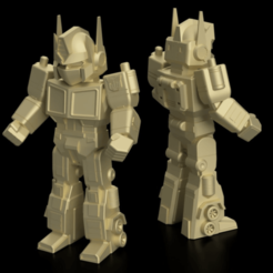 Download free STL file MINI PRIME // Optimus-prime transformers, 3DWORKBENCH