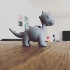 Fichier STL gratuit BabyDino, 3DWORKBENCH