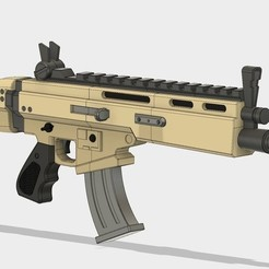 Download 3D print files FortNite SCAR, 3DWORKBENCH