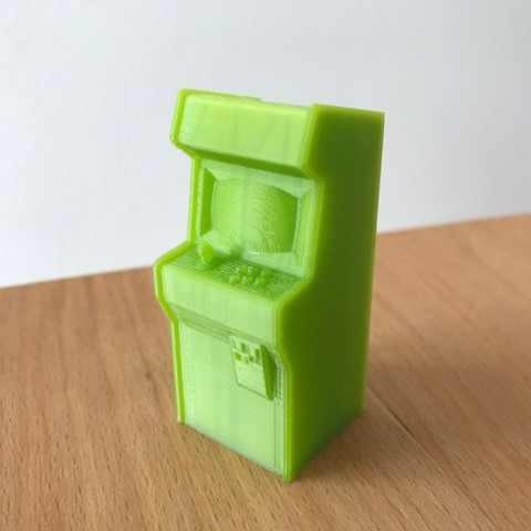 Download free 3D printing templates Tiny Arcade ornament, 3DWORKBENCH