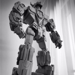 Download 3D printing templates VOLTRON // Legendary Defender, 3DWORKBENCH