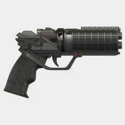 3D printer models BLADE RUNNER 2049 // Officer K's Blaster, 3DWORKBENCH