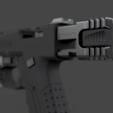 Download free 3D printer model CYBERPUNK 2077 MILITECH VINDICATOR 9mm, 3DWORKBENCH
