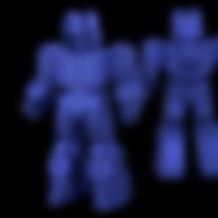 Download free 3D printer designs MINI SOUNDWAVE // Transformers Soundwave, 3DWORKBENCH
