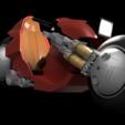 Download 3D printer designs AKIRA - Kanedas Bike, 3DWORKBENCH
