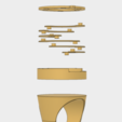 Download 3D printing templates REBEL ALLIANCE RING // STAR WARS 8, 3DWORKBENCH