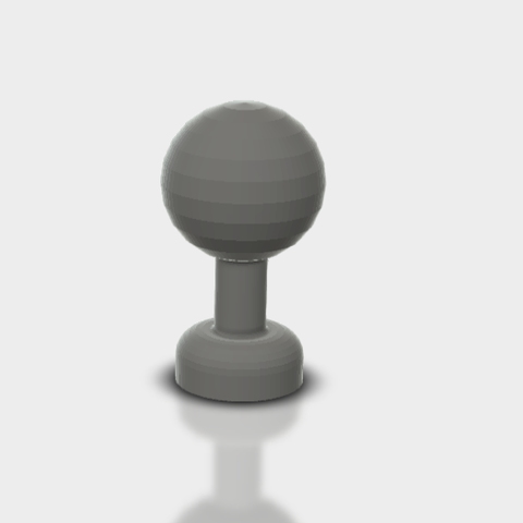 Screenshot(1).png Download STL file Ball plug • 3D printer template, cokinou
