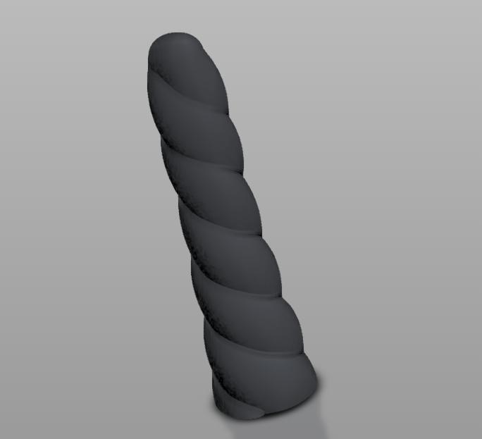 Sans titre.png Download STL file Unicorn Dildo • 3D printable object, cokinou
