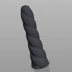 Download STL file Unicorn Dildo • 3D printable object, cokinou