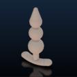 Sans titre3.png Download STL file G-Spot Butt Plug Anal • 3D printing object, cokinou